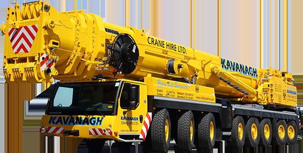 Kavanagh Crane Hire Ltd | The Largest Crane Hire Fleet in
