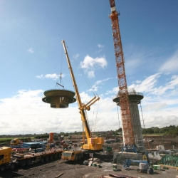 350 ton crane working co.Meath