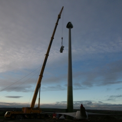 Grove Gmk 6300 Wind Turbine Construction