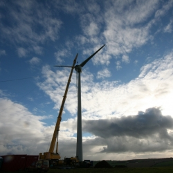 Grove Gmk 6300 Wind Turbine Blade positioning